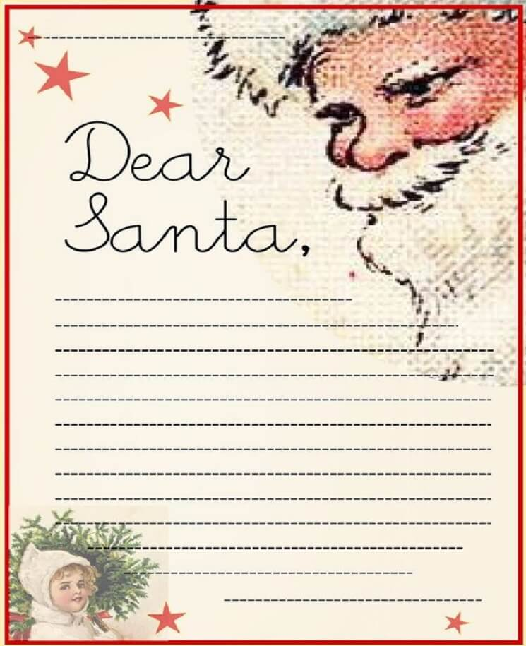 письмо Санта Клаусу на английском 12