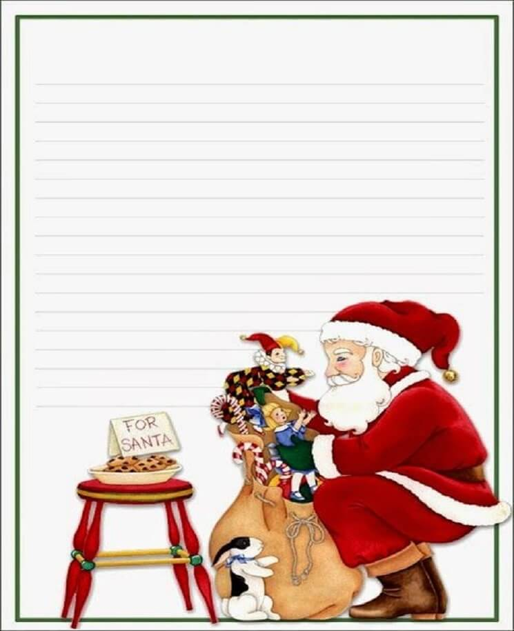 письмо Санта Клаусу на английском 14