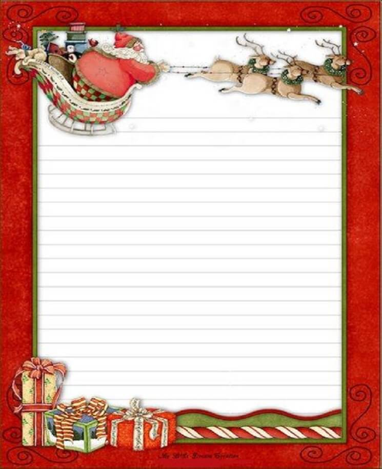 письмо Санта Клаусу на английском 25