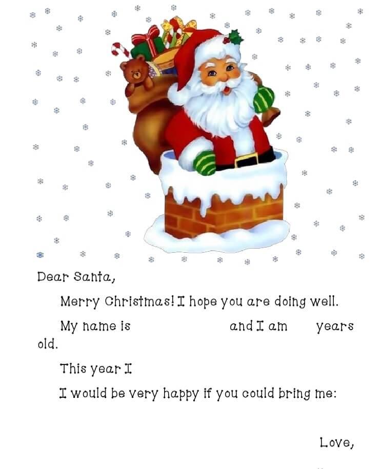 письмо Санта Клаусу на английском 7