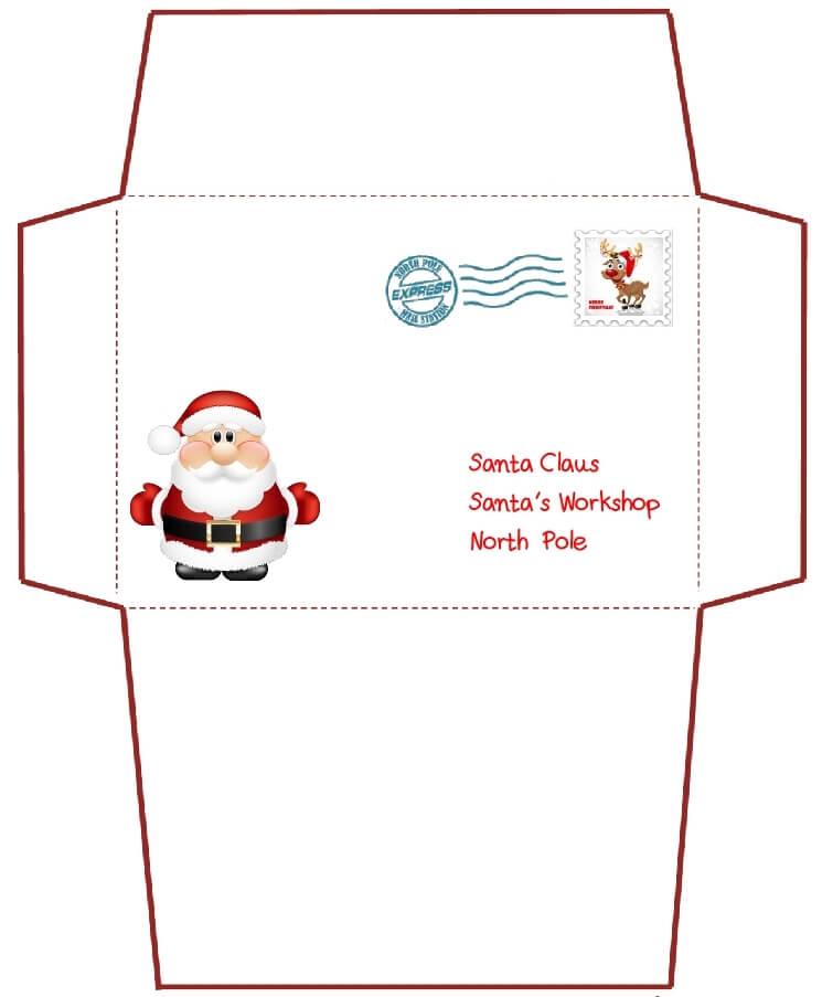 письмо Санта Клаусу на английском 87