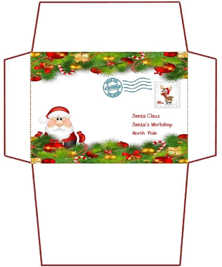 письмо Санта Клаусу на английском 88