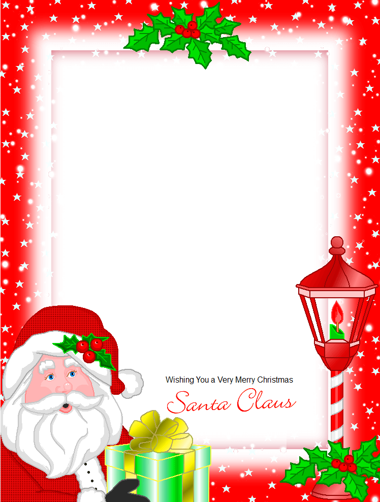 письмо Санта Клаусу на английском 96