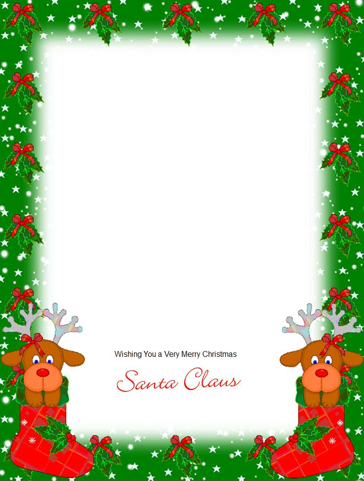 письмо Санта Клаусу на английском 97