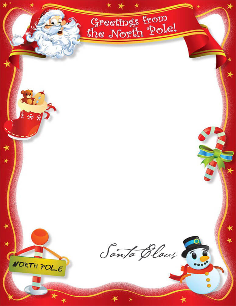 письмо Санта Клаусу на английском 98