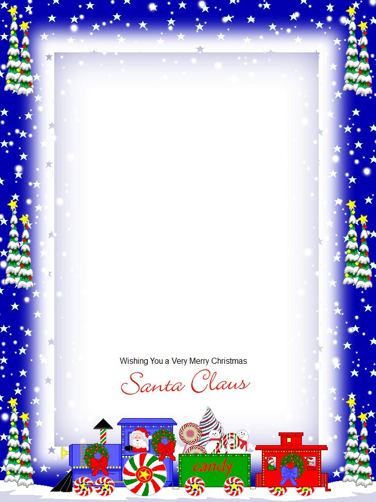 письмо Санта Клаусу на английском 99